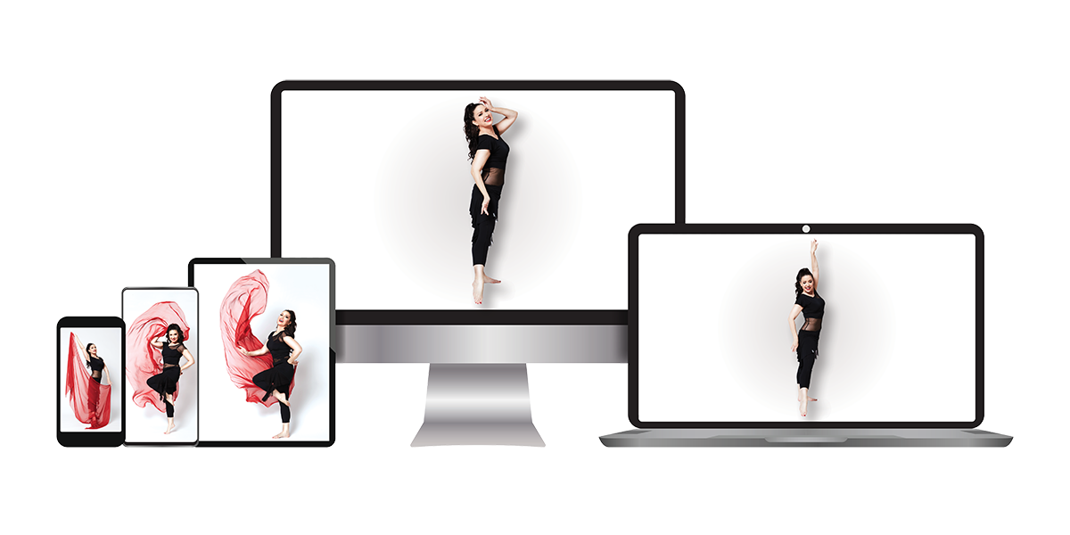 Belly dance online class with aziza
